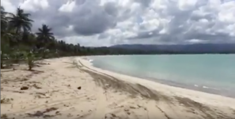 1,060 acres Beachfront land at Playa Arriba – Miches – Dominican Republic
