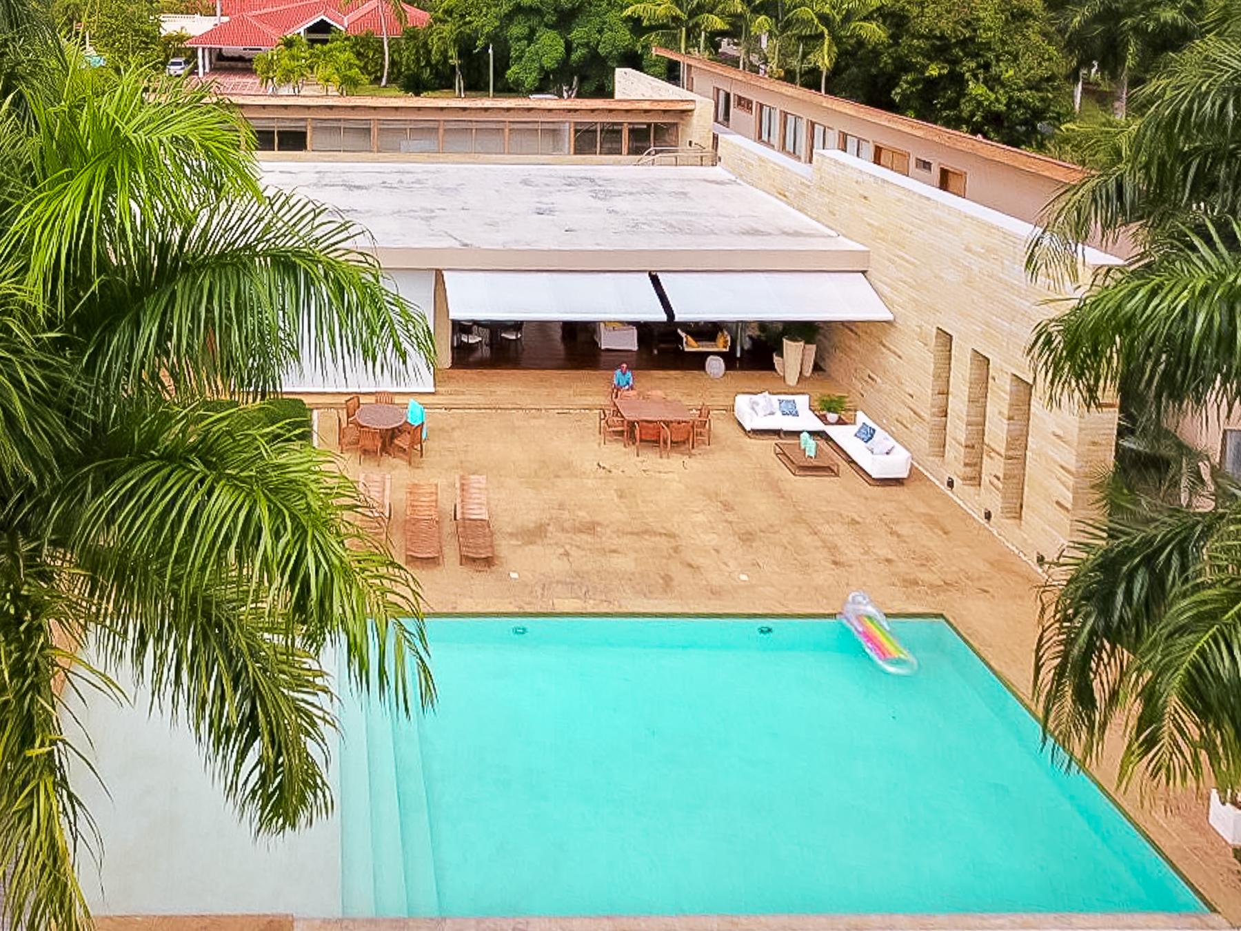 Flawless Contemporary Design Golf front home at Casa de Campo