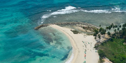 5 acres of Last Large Beachfront Lot for sale at Juan Dolio – 20,000 m2