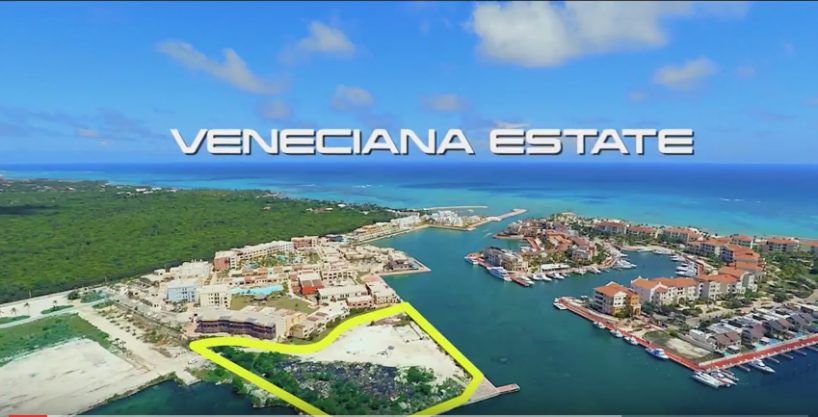 14,000m2 Marina Waterfront Prime Land at Punta Cana