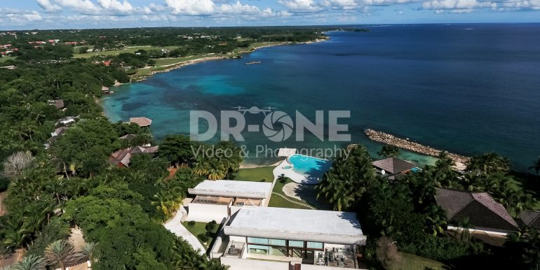Beachfront Modern Mansion at Punta Aguila, Casa de Campo, Dominican Republic