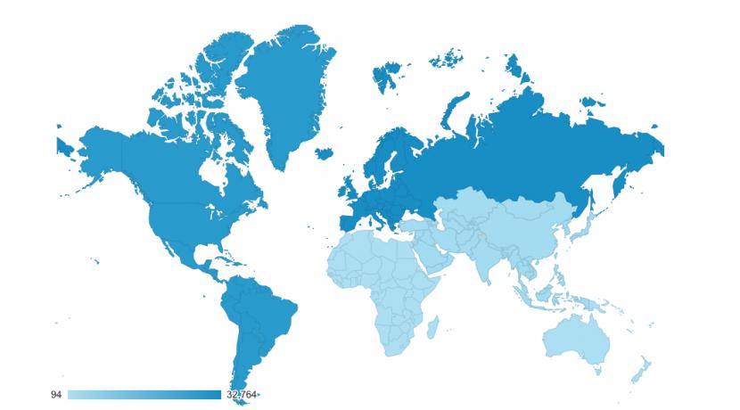 Global Reach Worldwide Audience