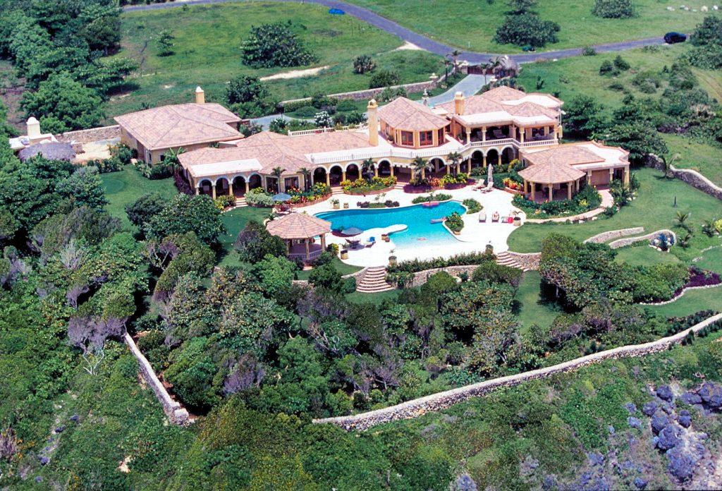 Aerial View of Villa Castellamonte