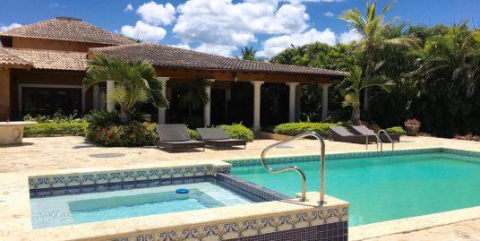 Golf-front Villa at Las Palmas, Casa de Campo Resort