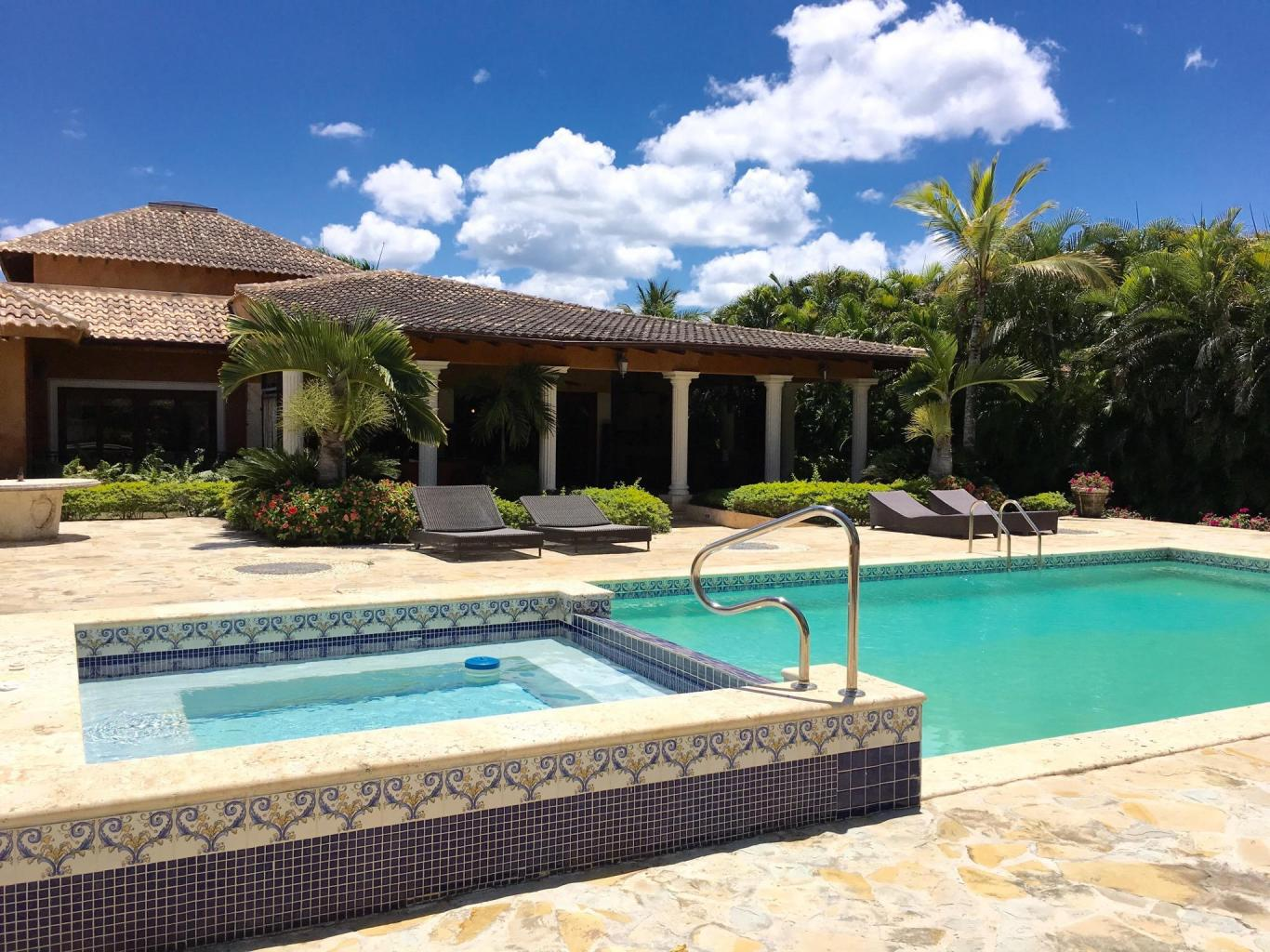 Golf-front Villa at Las Palmas, Casa de Campo Resort