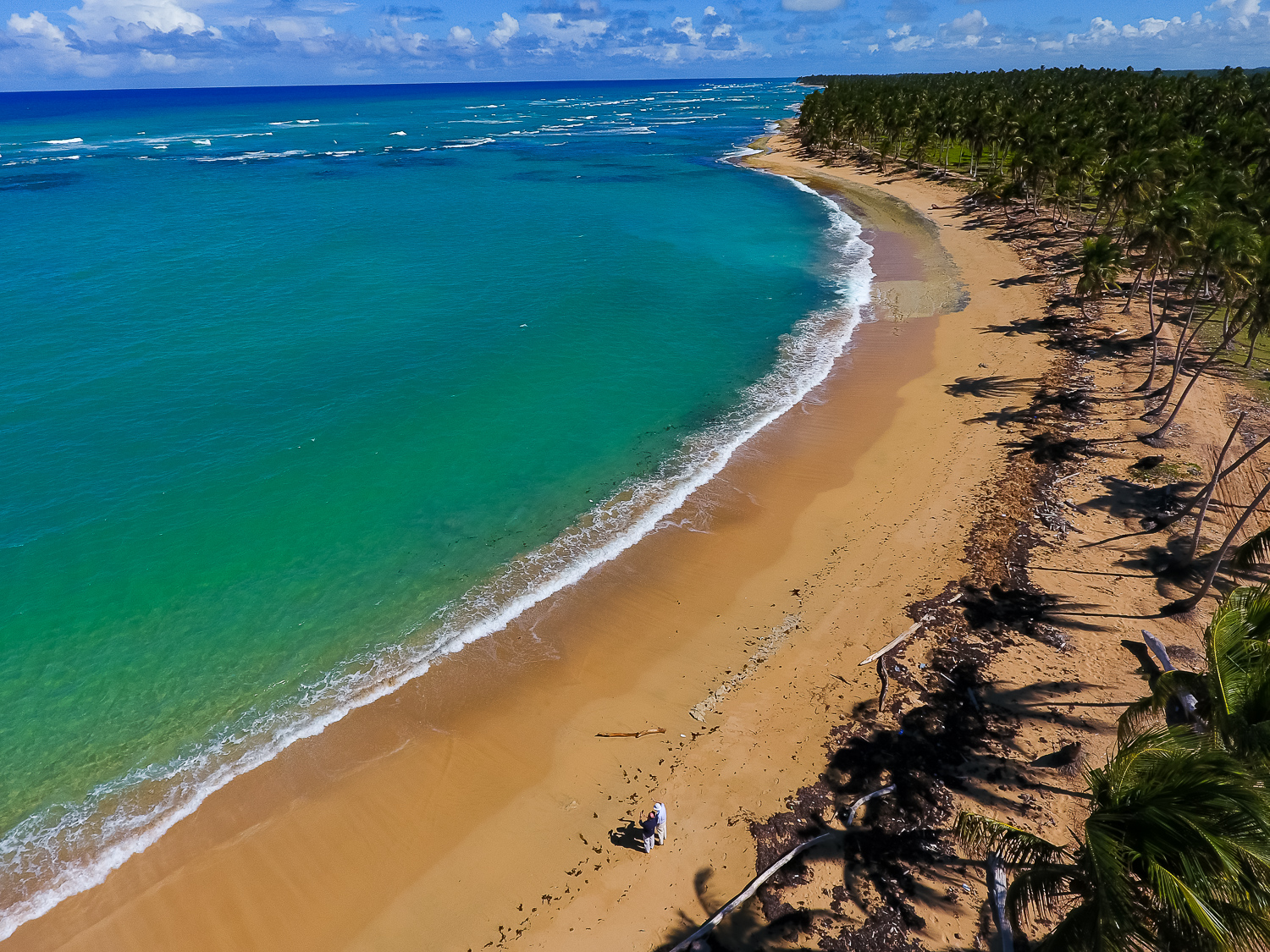 865 Acres ( 3,5 MM m2 ) Beachfront Lot at La Vacama, Punta Cana