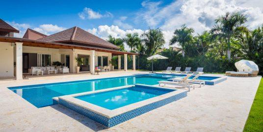 JUST REDUCED ! Beautiful Contemporary Villa at Las Cañas 2, Casa de Campo Resort
