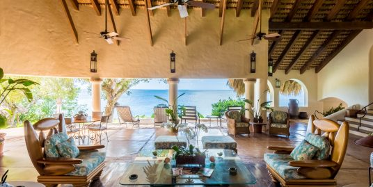 JUST REDUCED from 5.85 MM to 4.45 MM A Rare Oceanfront Villa at Punta Aguila