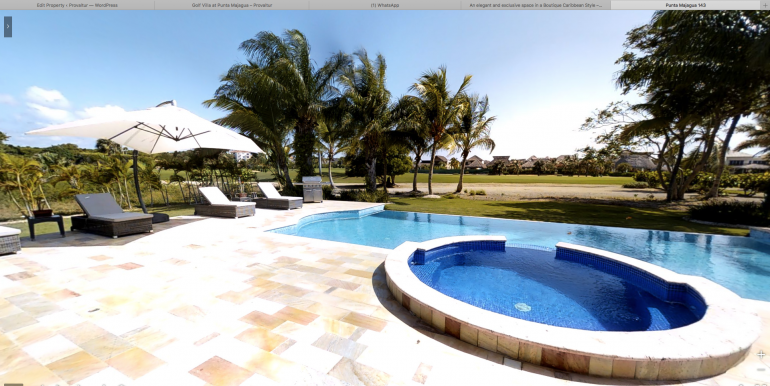Golf Front Villa at Punta Majagua, Cap Cana00026