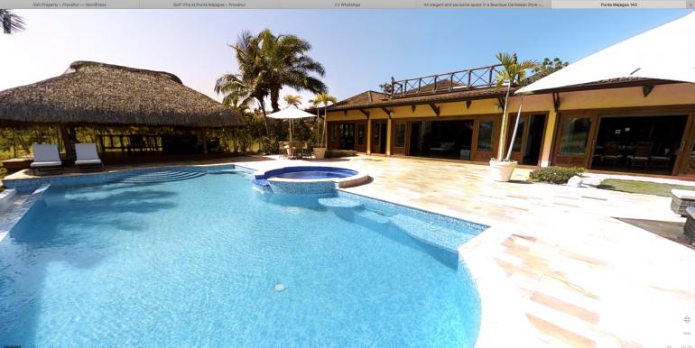 Golf Front Villa at Punta Majagua, Cap Cana00027