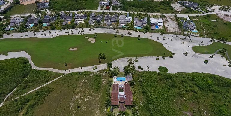 Golf front Villa at Punta Majagua 143 - Cap Cana-11