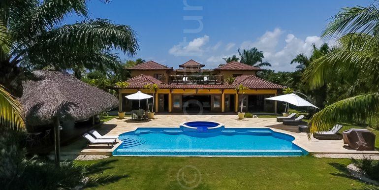 Golf front Villa at Punta Majagua 143 - Cap Cana-13