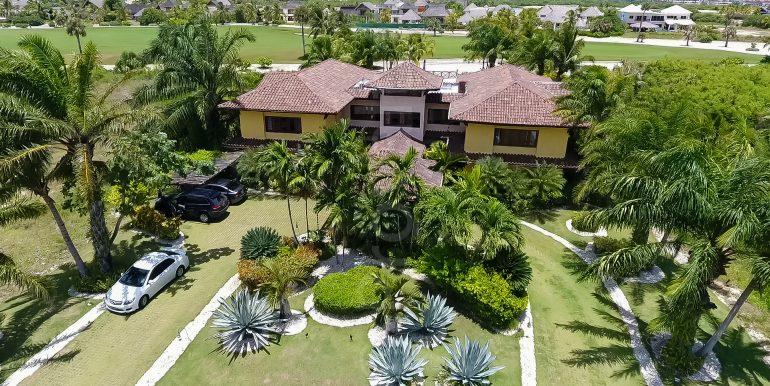 Golf front Villa at Punta Majagua 143 - Cap Cana-2