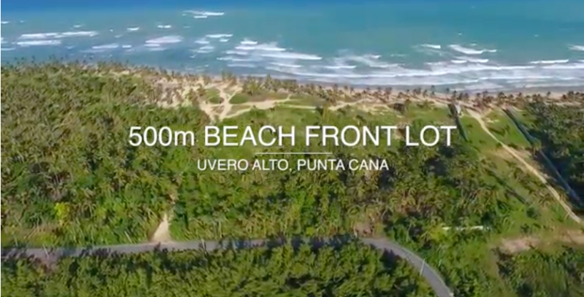 550,000m2 Beach Front Lot for Hotel and Resort
