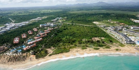 132,352m2 Beachfront Lot at Uvero Alto, Punta Cana
