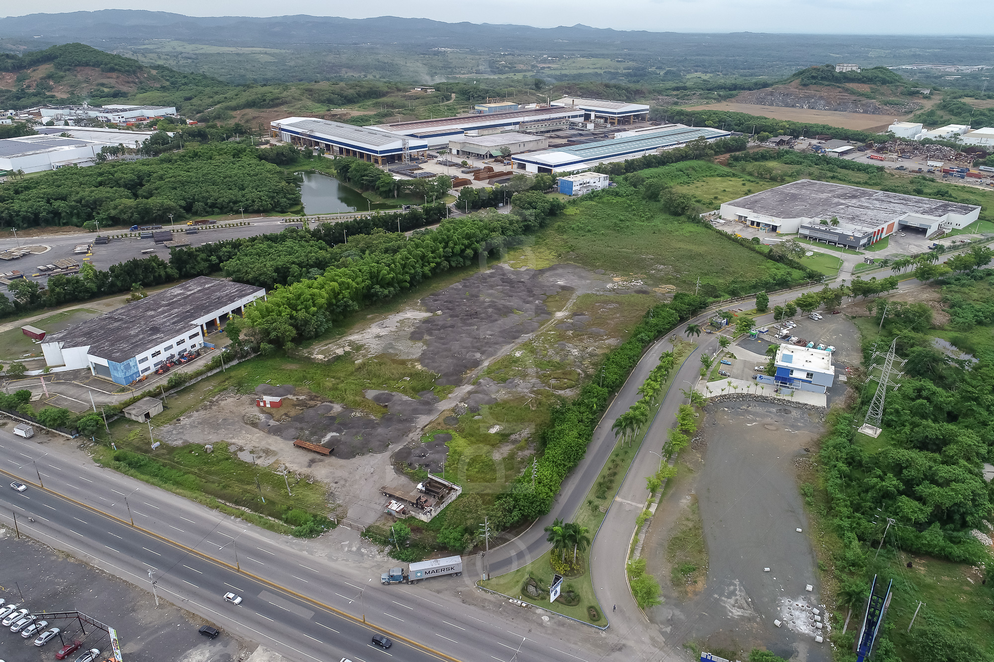 50,000m2 Strategic Lot in major Crossing Highways – Santo Domingo
