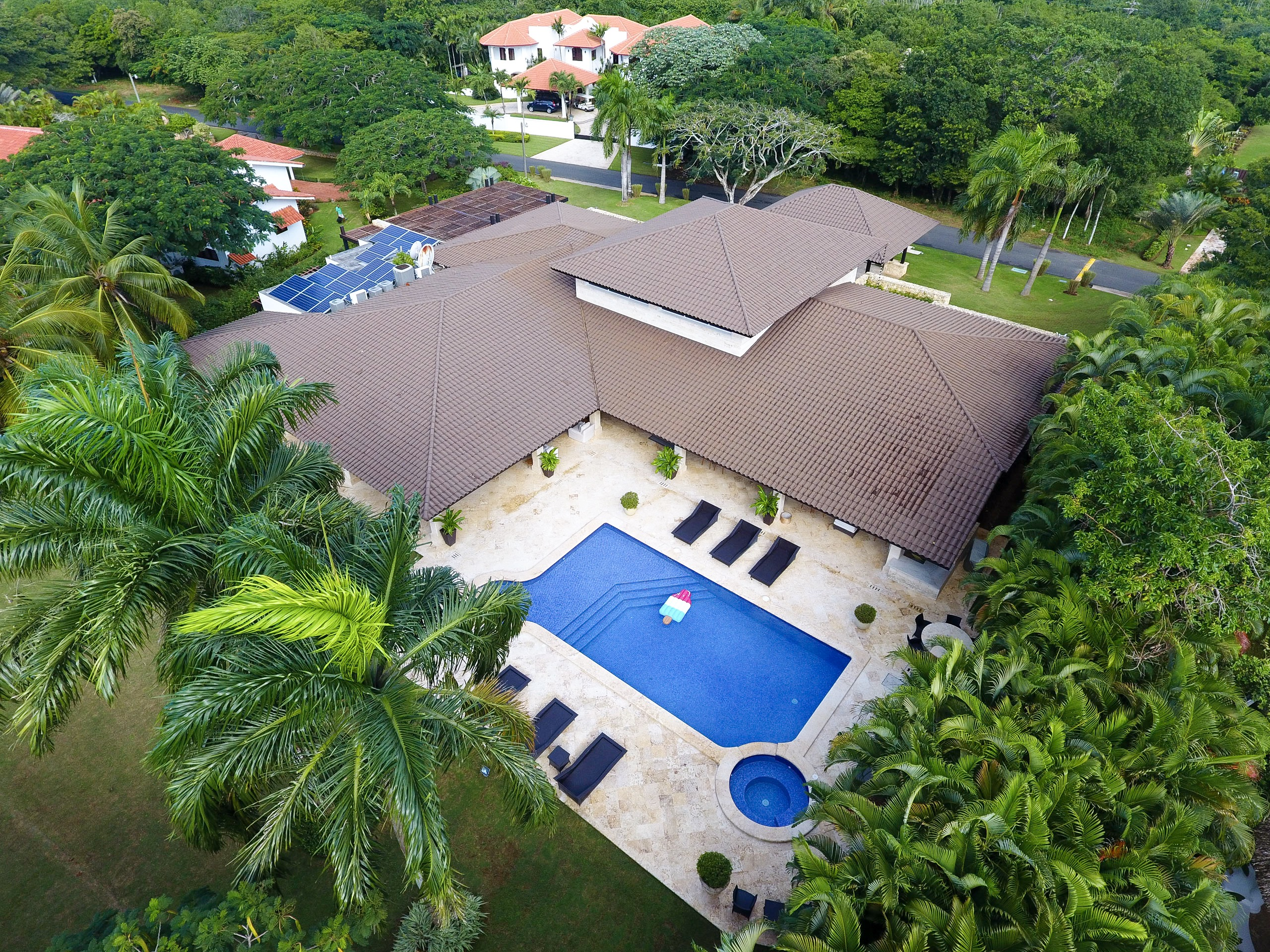 Barranca Oeste Exquisitely Furnished Golf Front – Ocean View Villa