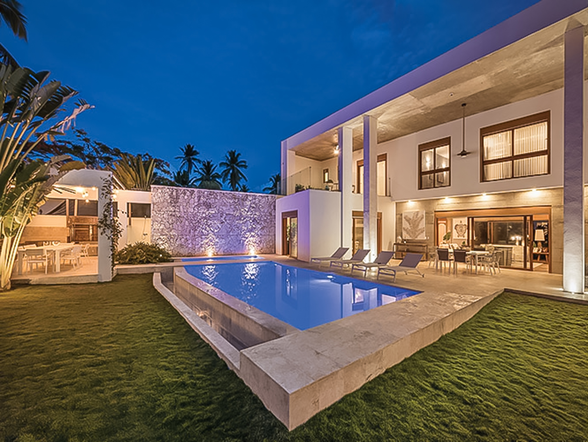 OFF-MARKET – Villa Lulú – An arquitectural Jewel at Portillo Beach, Samana