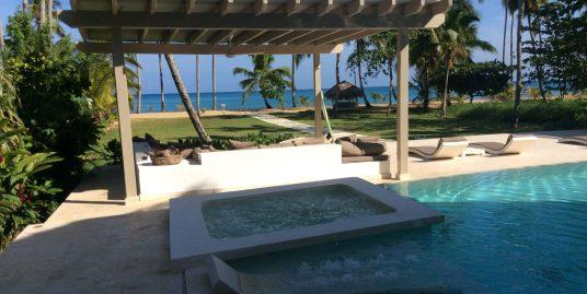Prime Beachfront Villa at Los Nomadas, Playa Coson, Terrenas