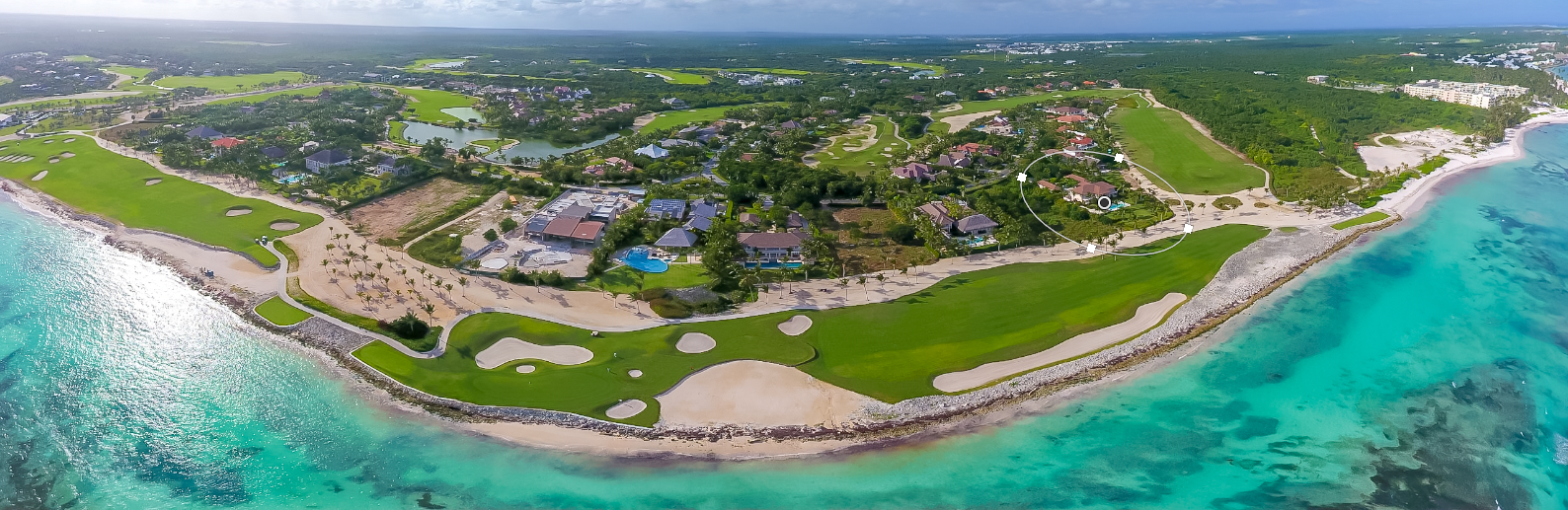 Golf and Oceanfront Arrecife at Puntacana Resort & Club - Arrecife 21 at right