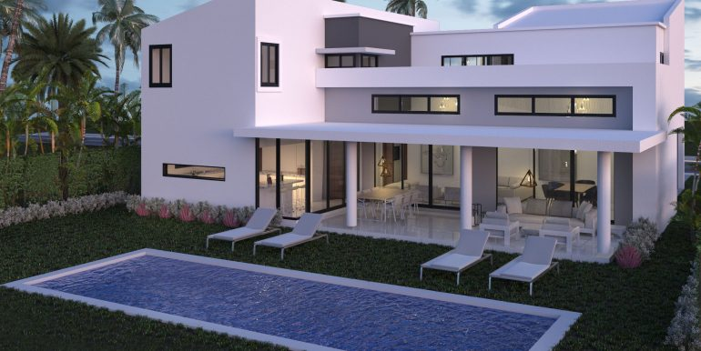 Exterior villa Drago -POSTERIOR