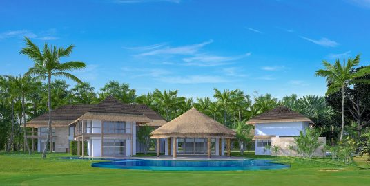 Tropical Luxury Golf front NEW Villa