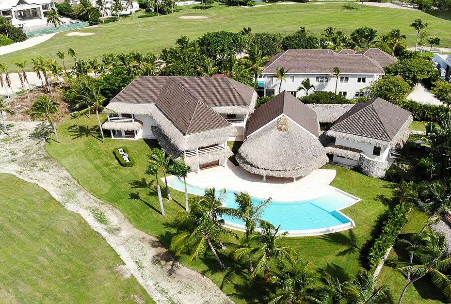 NEW Puntacana Tropical Luxury Golf Front