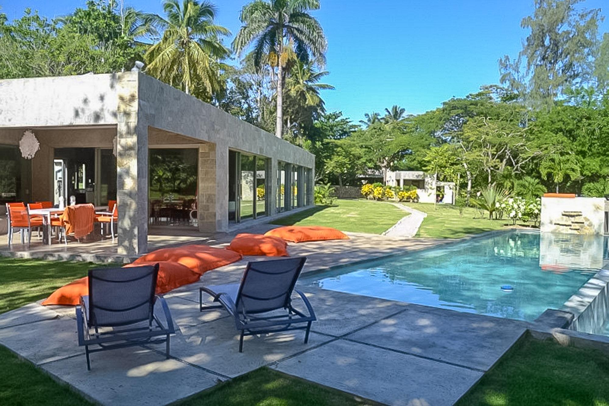 Contemporary Villa at Playa Breton