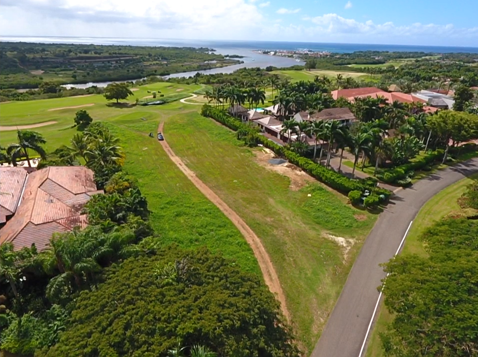 Last Lot available at Vista Chavon – Golf Front with Ocean and Marina Views