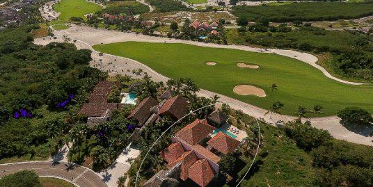 Villa Reflejos at Las Palmas 117, on 6th Fairway of Punta Espada Jack Nicklaus Course