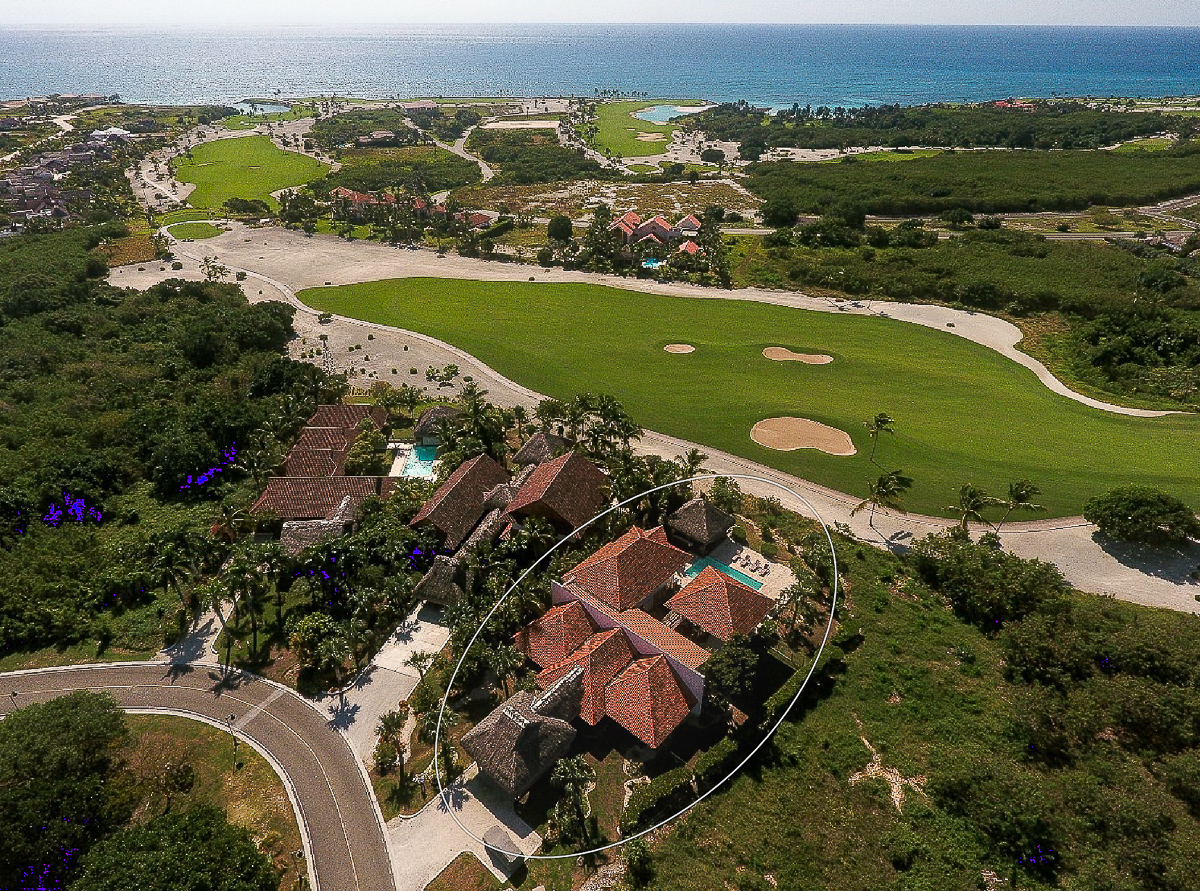 Villa Reflejos at Las Palmas 117, on 6th Fairway of Punta Espada Jack Nicklaus Course