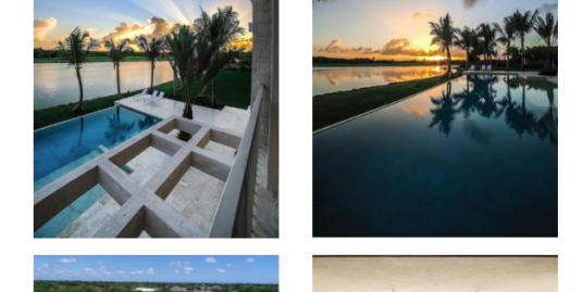 Los Lagos, first inland waterfront community at Puntacana Resort and Club