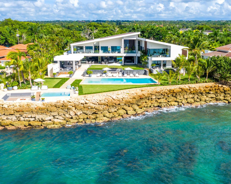 Stunning New Oceanfront Villa in Casa de Campo