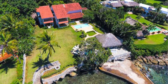 Best Valued Oceanfront Villa at Punta Aguila, Casa de Campo