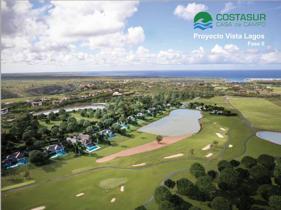 New Lots available at Vista Lagos, Golf and Lakes Views for a new Lifestyle at Casa de Campo
