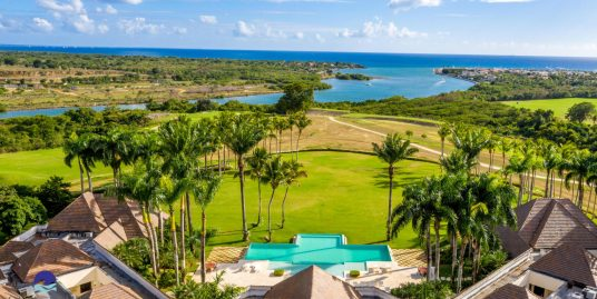 Ocean Views from  extraordinary Villa El Palmar at Vista Chavon