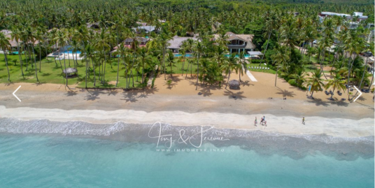 Luxury Beachfront Villa at Playa Coson, Samana