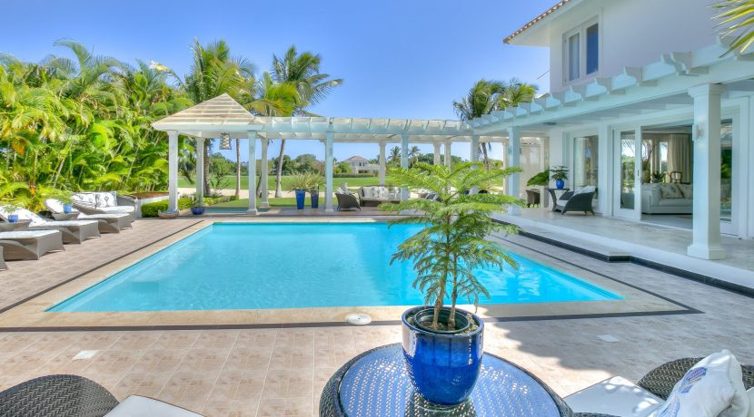 Tortuga B9 - Punta cana Resort - Luxury Real Estate for sale Back plus view