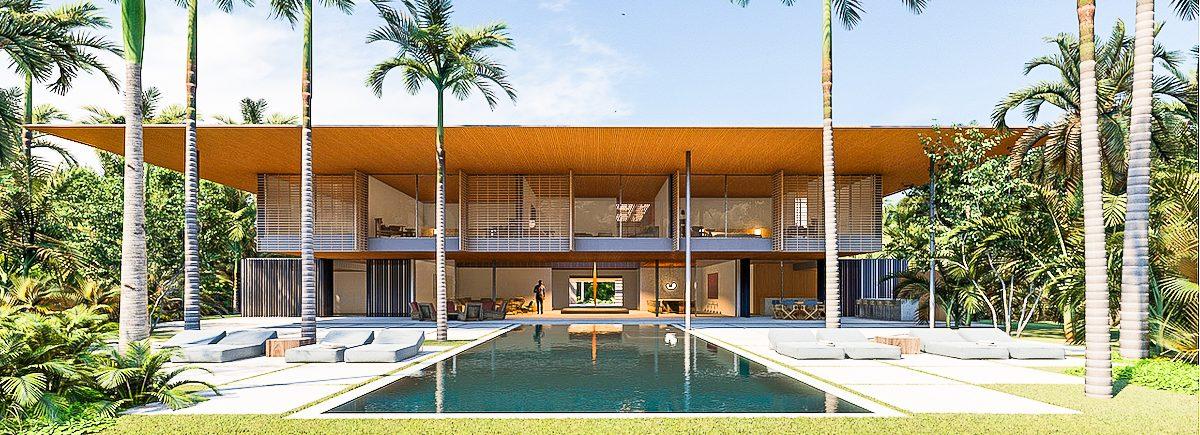 Jacobsen Arquitectura Design Home Project at Arrecife 18 Homesite