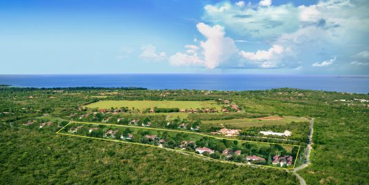 14 lots of 2500m2 at only 250.00/m2 with Ocean-views at Casa de Campo Resort