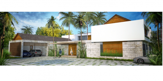 A great opportunity to pay this house during the building process at Punta Cana Resort