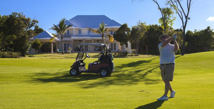 Impeccable Golf Views from a New Villa at Puntacana