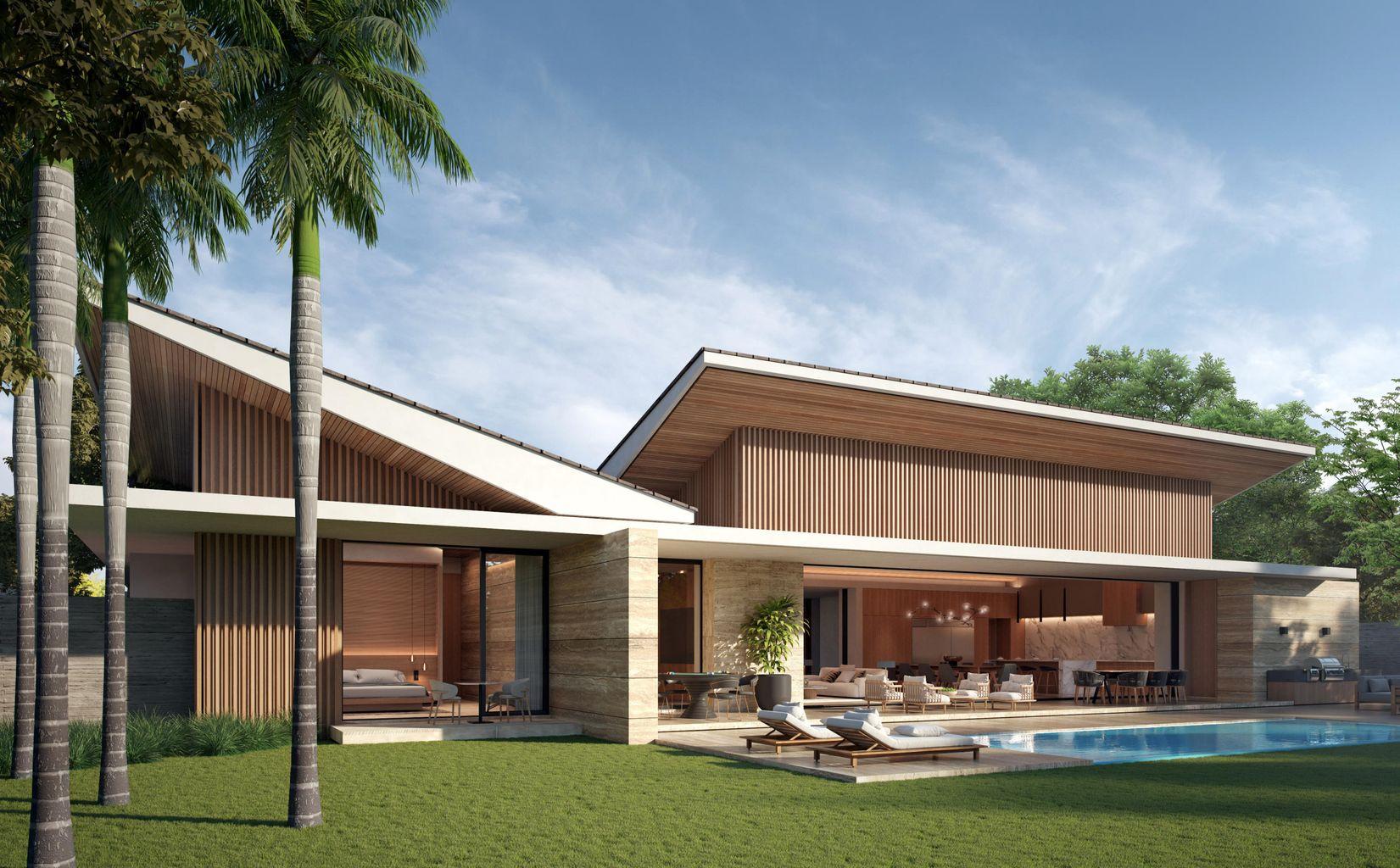Award Winning Design at Villas at Flamboyanes nestled between 2 park – Ready by Autumn 2022