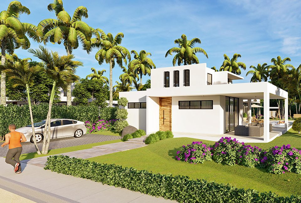 Las Palmeras de Coson - Las Terrenas - Samana - Beachfront Residences00025